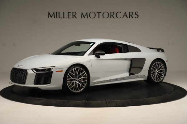 Used 2018 Audi R8 5.2 quattro V10 Plus for sale Sold at Bentley Greenwich in Greenwich CT 06830 2