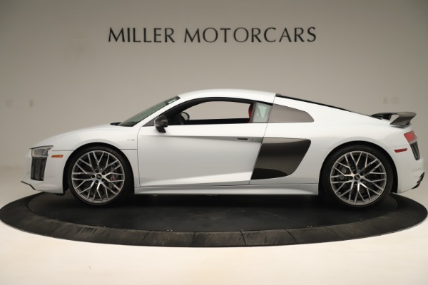 Used 2018 Audi R8 5.2 quattro V10 Plus for sale Sold at Bentley Greenwich in Greenwich CT 06830 3