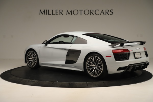Used 2018 Audi R8 5.2 quattro V10 Plus for sale Sold at Bentley Greenwich in Greenwich CT 06830 4