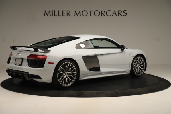 Used 2018 Audi R8 5.2 quattro V10 Plus for sale Sold at Bentley Greenwich in Greenwich CT 06830 8