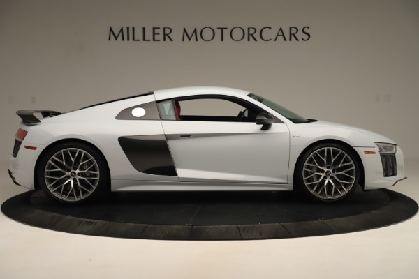 Used 2018 Audi R8 5.2 quattro V10 Plus for sale Sold at Bentley Greenwich in Greenwich CT 06830 9