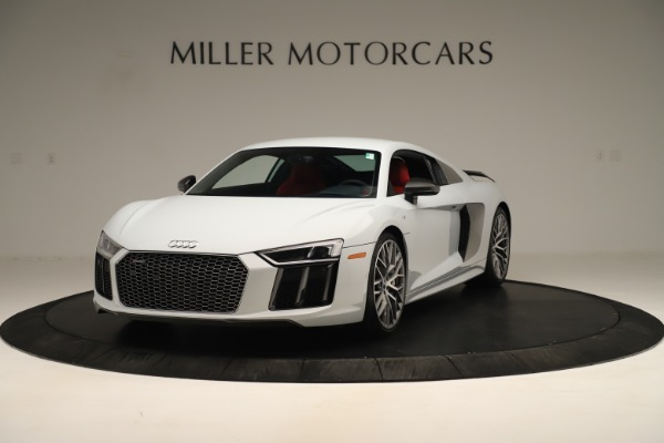 Used 2018 Audi R8 5.2 quattro V10 Plus for sale Sold at Bentley Greenwich in Greenwich CT 06830 1
