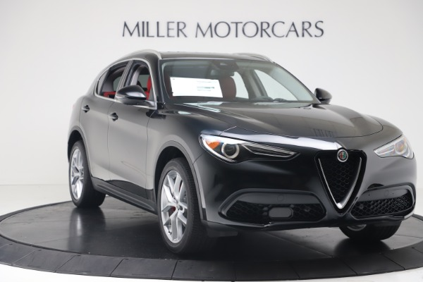 New 2019 Alfa Romeo Stelvio Ti Q4 for sale Sold at Bentley Greenwich in Greenwich CT 06830 11