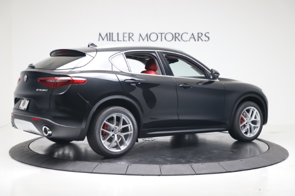 New 2019 Alfa Romeo Stelvio Ti Q4 for sale Sold at Bentley Greenwich in Greenwich CT 06830 8
