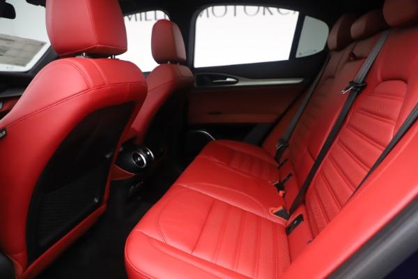 New 2019 Alfa Romeo Stelvio Ti Sport Q4 for sale $58,940 at Bentley Greenwich in Greenwich CT 06830 19