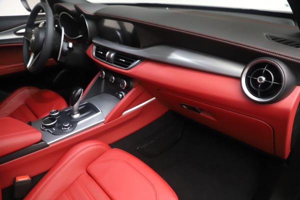 New 2019 Alfa Romeo Stelvio Ti Sport Q4 for sale $58,940 at Bentley Greenwich in Greenwich CT 06830 22