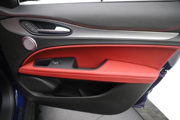 New 2019 Alfa Romeo Stelvio Ti Sport Q4 for sale $58,940 at Bentley Greenwich in Greenwich CT 06830 25