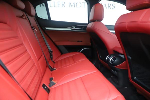New 2019 Alfa Romeo Stelvio Ti Sport Q4 for sale $58,940 at Bentley Greenwich in Greenwich CT 06830 27