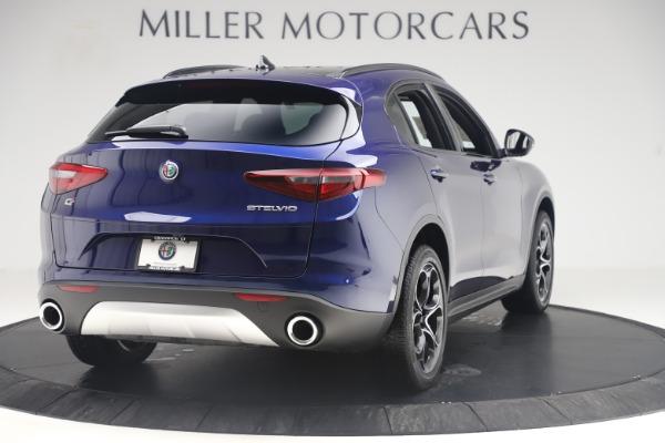 New 2019 Alfa Romeo Stelvio Ti Sport Q4 for sale $58,940 at Bentley Greenwich in Greenwich CT 06830 7