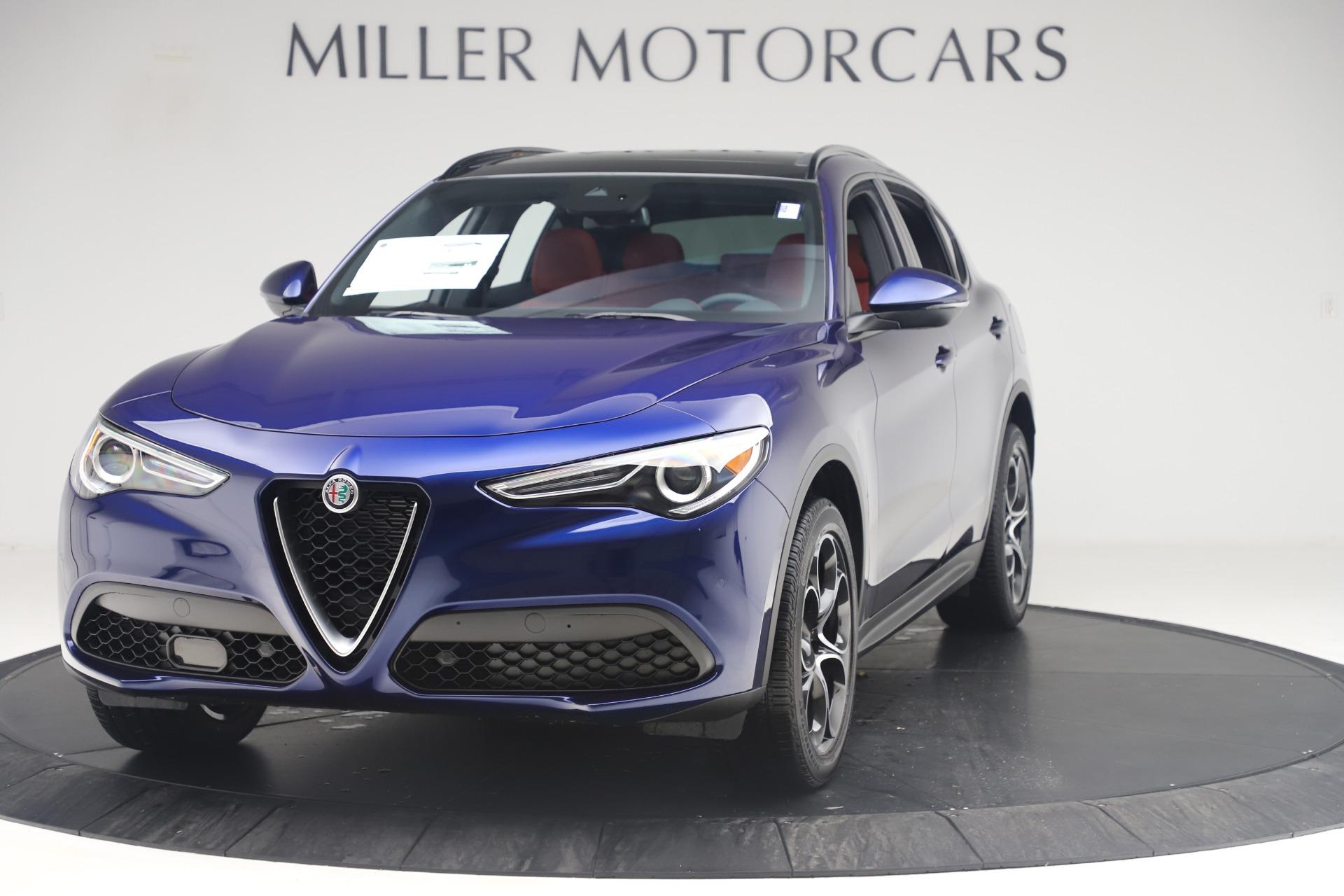 New 2019 Alfa Romeo Stelvio Ti Sport Q4 for sale $58,940 at Bentley Greenwich in Greenwich CT 06830 1