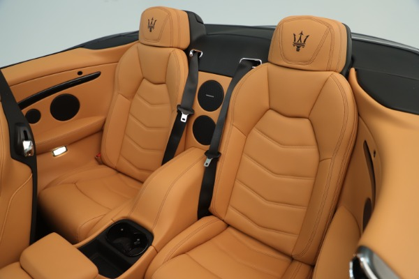 New 2019 Maserati GranTurismo Sport Convertible for sale $161,695 at Bentley Greenwich in Greenwich CT 06830 23