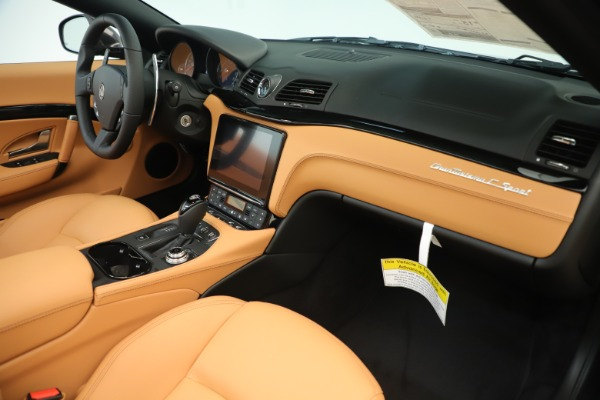New 2019 Maserati GranTurismo Sport Convertible for sale $161,695 at Bentley Greenwich in Greenwich CT 06830 26