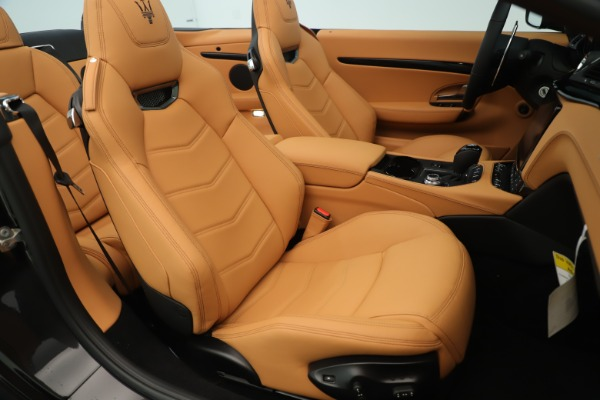 New 2019 Maserati GranTurismo Sport Convertible for sale $161,695 at Bentley Greenwich in Greenwich CT 06830 28