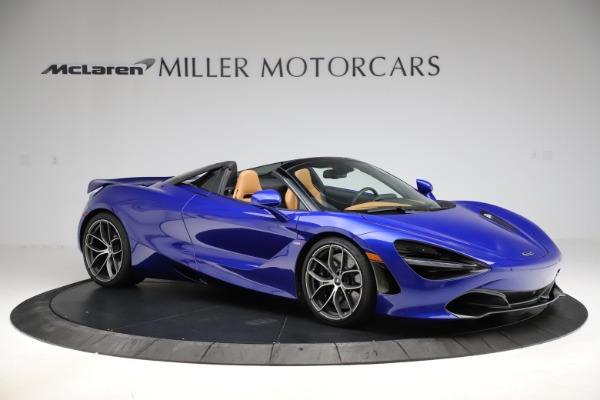New 2020 McLaren 720S SPIDER Convertible for sale $374,830 at Bentley Greenwich in Greenwich CT 06830 10