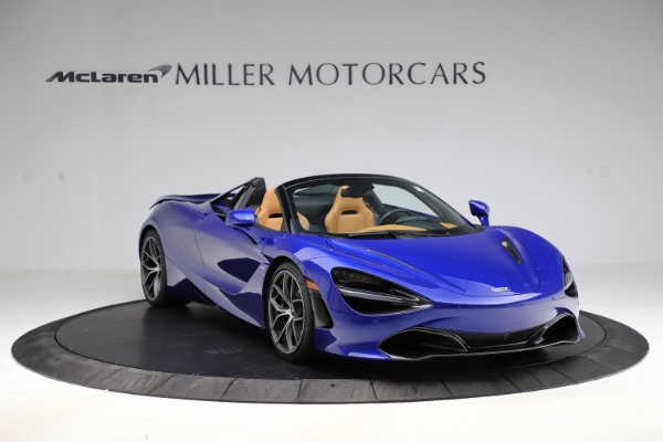New 2020 McLaren 720S SPIDER Convertible for sale $374,830 at Bentley Greenwich in Greenwich CT 06830 11