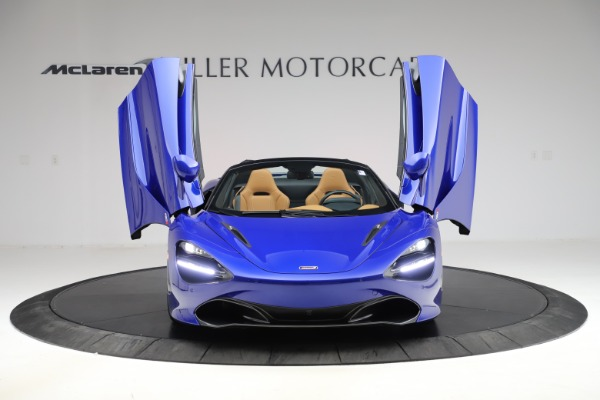 New 2020 McLaren 720S SPIDER Convertible for sale $374,830 at Bentley Greenwich in Greenwich CT 06830 13