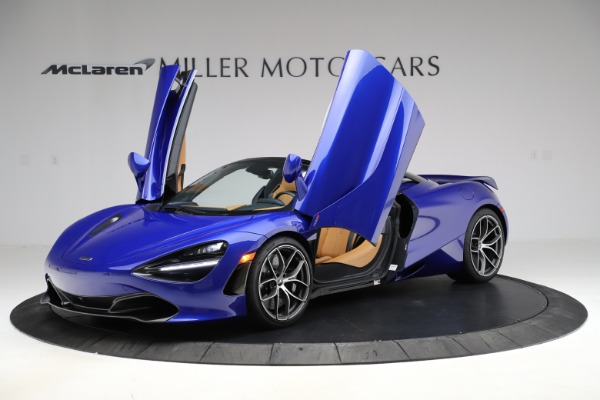 New 2020 McLaren 720S SPIDER Convertible for sale $374,830 at Bentley Greenwich in Greenwich CT 06830 14