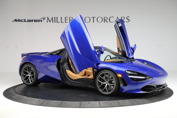 New 2020 McLaren 720S SPIDER Convertible for sale $374,830 at Bentley Greenwich in Greenwich CT 06830 15