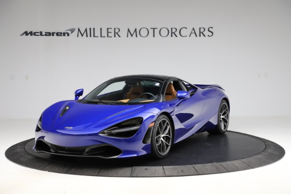 New 2020 McLaren 720S SPIDER Convertible for sale $374,830 at Bentley Greenwich in Greenwich CT 06830 16