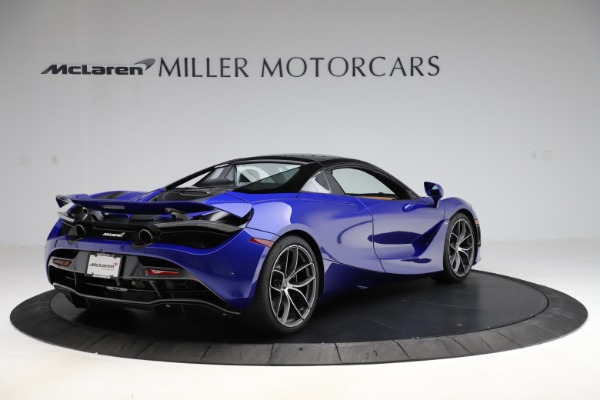 New 2020 McLaren 720S SPIDER Convertible for sale $374,830 at Bentley Greenwich in Greenwich CT 06830 19