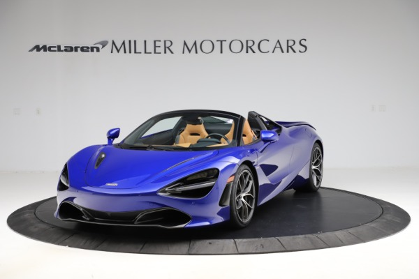 New 2020 McLaren 720S SPIDER Convertible for sale $374,830 at Bentley Greenwich in Greenwich CT 06830 2