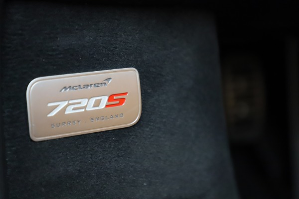 New 2020 McLaren 720S Spider Luxury for sale Sold at Bentley Greenwich in Greenwich CT 06830 27