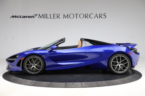 New 2020 McLaren 720S SPIDER Convertible for sale $374,830 at Bentley Greenwich in Greenwich CT 06830 3