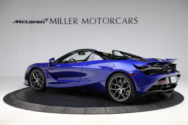 New 2020 McLaren 720S SPIDER Convertible for sale $374,830 at Bentley Greenwich in Greenwich CT 06830 4
