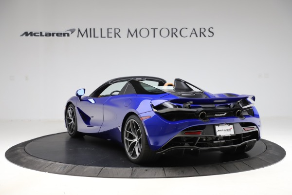 New 2020 McLaren 720S SPIDER Convertible for sale $374,830 at Bentley Greenwich in Greenwich CT 06830 5