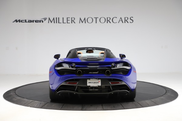 New 2020 McLaren 720S SPIDER Convertible for sale $374,830 at Bentley Greenwich in Greenwich CT 06830 6