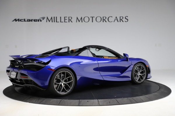 New 2020 McLaren 720S SPIDER Convertible for sale $374,830 at Bentley Greenwich in Greenwich CT 06830 8