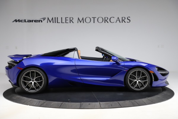 New 2020 McLaren 720S SPIDER Convertible for sale $374,830 at Bentley Greenwich in Greenwich CT 06830 9