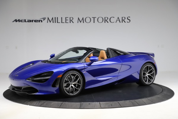 New 2020 McLaren 720S SPIDER Convertible for sale $374,830 at Bentley Greenwich in Greenwich CT 06830 1