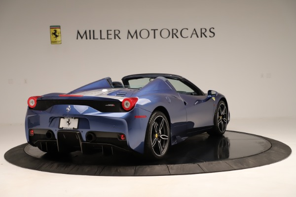 Used 2015 Ferrari 458 Speciale Aperta for sale Sold at Bentley Greenwich in Greenwich CT 06830 8