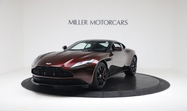 New 2019 Aston Martin DB11 V12 AMR Coupe for sale $263,916 at Bentley Greenwich in Greenwich CT 06830 2