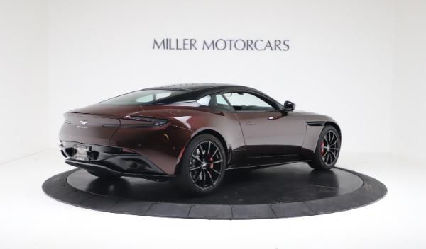 New 2019 Aston Martin DB11 V12 AMR Coupe for sale $263,916 at Bentley Greenwich in Greenwich CT 06830 8