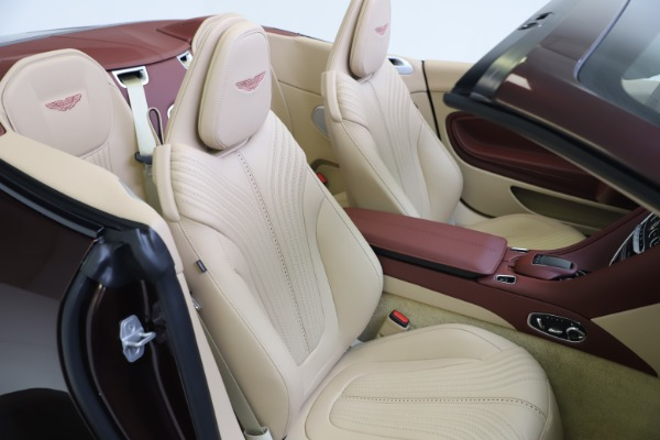 Used 2020 Aston Martin DB11 Volante for sale Sold at Bentley Greenwich in Greenwich CT 06830 26