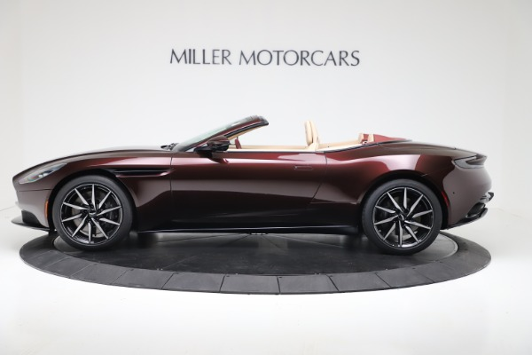 Used 2020 Aston Martin DB11 Volante for sale Sold at Bentley Greenwich in Greenwich CT 06830 3