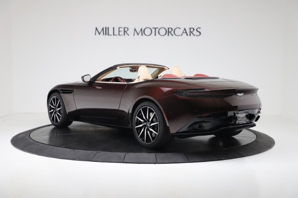 Used 2020 Aston Martin DB11 Volante Convertible for sale $223,900 at Bentley Greenwich in Greenwich CT 06830 4