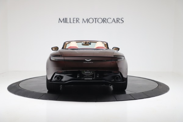 Used 2020 Aston Martin DB11 Volante Convertible for sale $223,900 at Bentley Greenwich in Greenwich CT 06830 5