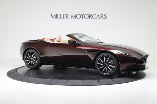 Used 2020 Aston Martin DB11 Volante Convertible for sale $223,900 at Bentley Greenwich in Greenwich CT 06830 9