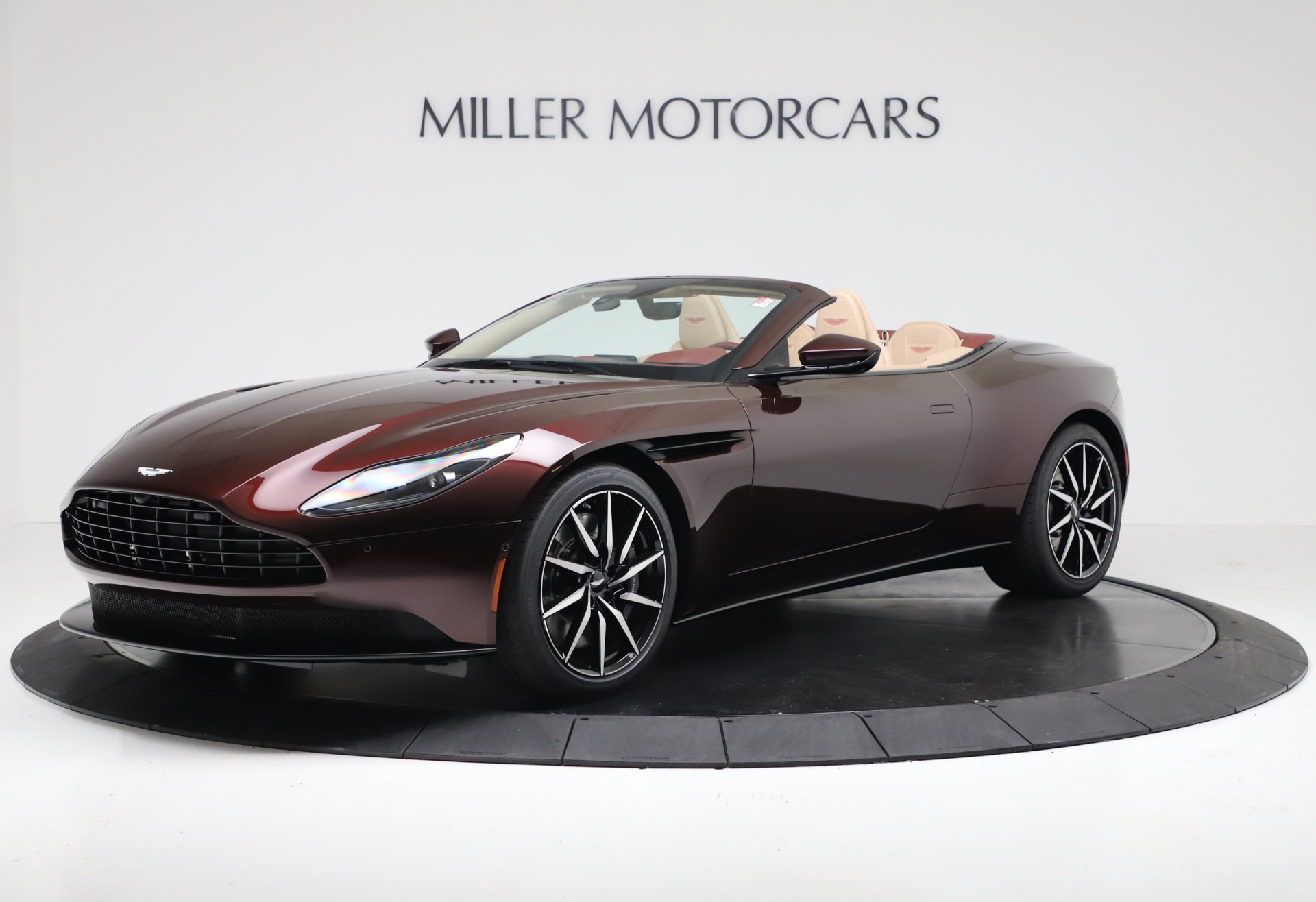 Used 2020 Aston Martin DB11 Volante for sale Sold at Bentley Greenwich in Greenwich CT 06830 1