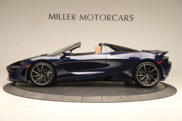 New 2020 McLaren 720S Spider Convertible for sale $372,250 at Bentley Greenwich in Greenwich CT 06830 2