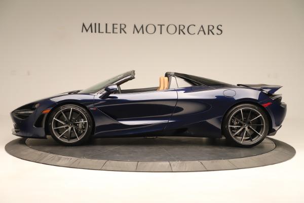 New 2020 McLaren 720S Spider for sale $372,250 at Bentley Greenwich in Greenwich CT 06830 2