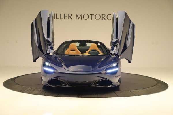 New 2020 McLaren 720S Spider Convertible for sale $372,250 at Bentley Greenwich in Greenwich CT 06830 27