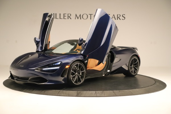 New 2020 McLaren 720S Spider Convertible for sale $372,250 at Bentley Greenwich in Greenwich CT 06830 28