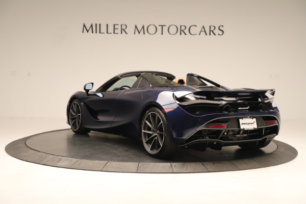 New 2020 McLaren 720S Spider Convertible for sale $372,250 at Bentley Greenwich in Greenwich CT 06830 3