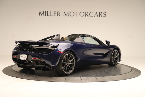 New 2020 McLaren 720S Spider Convertible for sale $372,250 at Bentley Greenwich in Greenwich CT 06830 4