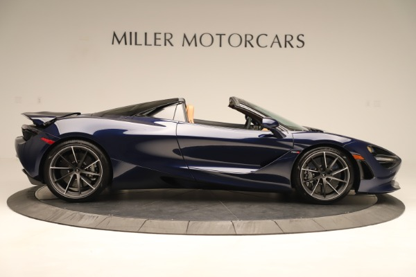 New 2020 McLaren 720S Spider Convertible for sale $372,250 at Bentley Greenwich in Greenwich CT 06830 5