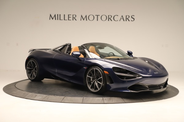 New 2020 McLaren 720S Spider Convertible for sale $372,250 at Bentley Greenwich in Greenwich CT 06830 6